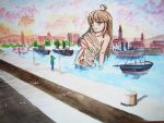 Lucia in the Harbour by Muffyma