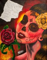 Day-of-the-dead-painting-sarra-lynnette by sarraspace92