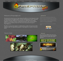 Fireproofgfx Website by fireproofgfx