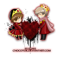 King and Queen of Broken Hearts by Chocotok