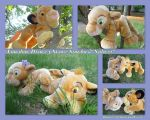 London Disney Store Simba And Nala 22 Inch by DoloAndElectrik