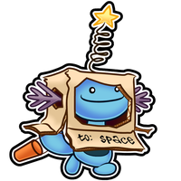 Wooper Halloween Sticker by The-Blue-Pangolin