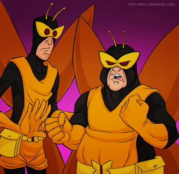 Henchman 21 and 24 by Efalt