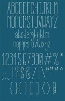Insanability Typeface by CornLord