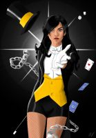 Zatanna: A Magician Can Never Reveal Her Secrets by natrival
