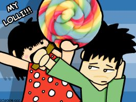 Here Is Your Lollipop by chelano