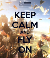 KEEP CALM and FLY ON. by GamerGirlist