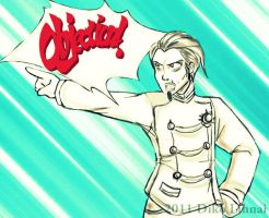 Objection, little sister by balba-bunny