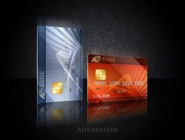 Credit card design. by AlexandraF