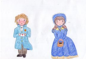 Les Miserables - Marius and Cosette by MrsLovett22
