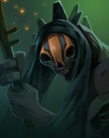 dota2 Ranged Creep by biggreenpepper