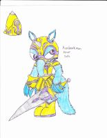 htf digimon sniffles armor by anolelightdragon