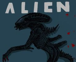 Alien by sheepysleep