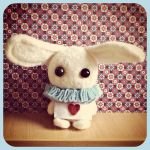 Are you my Alice?   needle felted by Rasa-chi