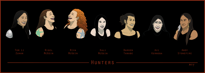 Hunters by NuisanceBearEull