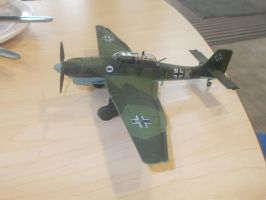 One more shot of the JU 87 by FFDP-Korpiklaaniguy