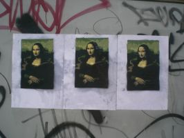 Mona Lisa Stencil by inspected-inspector