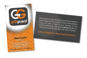 Grip Guard business card by kwant