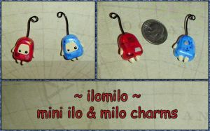ilomilo - Ilo and Milo Charms by YellerCrakka
