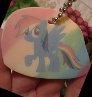 Rainbow Dash Charm *Auction* by KittenthePsycho