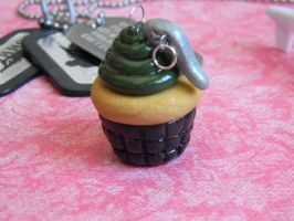Grenade Cupcake Charm by ThePetiteShop