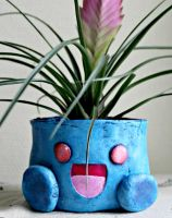 Oddish Flower Pot by Machi-Ramen