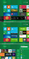 Another Windows8 startscreen V2.0 by PeterRollar
