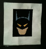 Batman cross stitch by WhispMI21