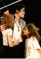 Michael and Fans by Paris-Jackson