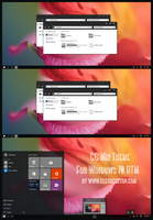 CC Mix Theme Windows 10 RTM by Cleodesktop