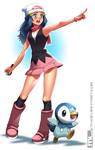 Pokemon - Dawn by MLeth