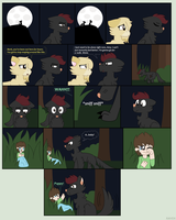 Werewolf! Mark and Baby! Jack .:Comic:. by Ravenslpash26