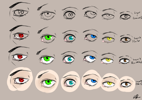 How to Color Eyes by KrazyEngima