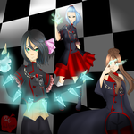 {DGM} Ladies of the order by Reds-Apple