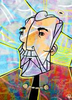 Christopher Lee by pinkoliphant