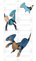 WATER STARTERS by lydario
