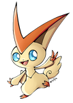 Victini by LordChatta