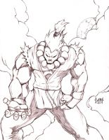Akuma - Street Fighter by DW-DeathWisH