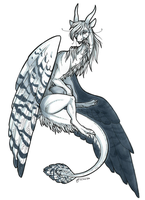 Feathered Mist CM by Minerea