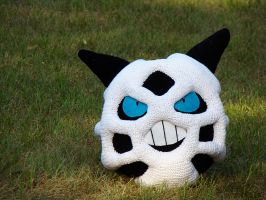 Glalie Plushie by HidingInTheClouds