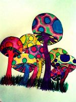 More Shrooms! by CherryBloodDust