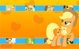 Applejack Wallpaper by Frost65