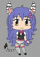 [CLOSED] ADOPTABLE GIVEAWAY: Pretty Zebra Lady by izka-197