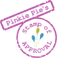 Pinkie Pie's Stamp of Approval SVG by tiwake
