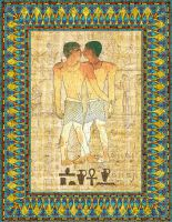The Kiss,  Niankhkhnum and Khnumhotep by Brightstone