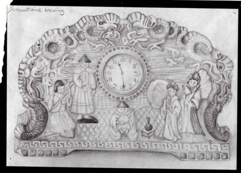 Ye Olde Clock thing by Melissary