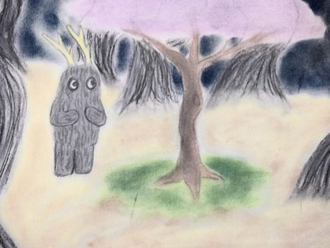 Stig and the Tree by moonlightflower1