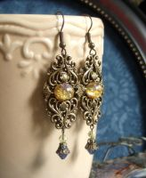 Aurora handmade earrings by DesireeMorte