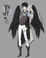 [OC] Cain Roswell | Angel of Time by Nemuharu