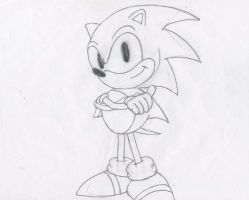 Sonic (classic) by MegaAnimationFan